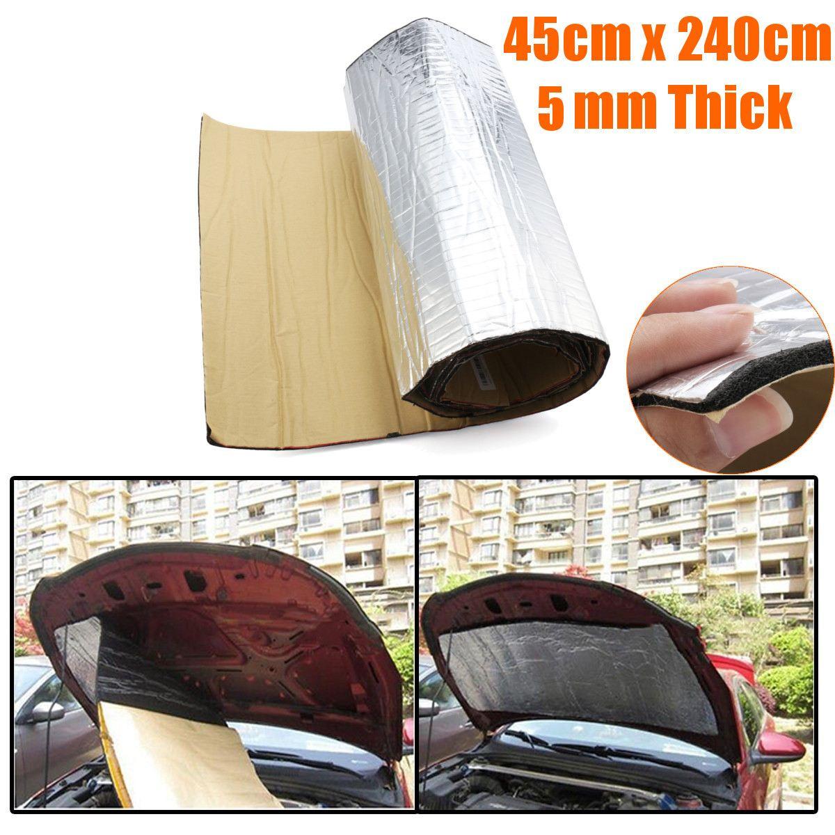 1Roll 240cmx50cm Car Sound Proofing Deadening Anti noise Sound Insulation Cotton Heat Closed Cell Foam Interior Accessories|Sound & Heat Insulation Cotton| |  - title=