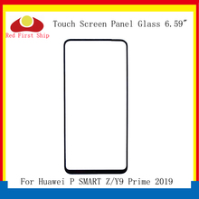 10Pcs/lot Touch Screen For Huawei Y9 Prime 2019 Touch Panel Front Outer Glass Lens Touchscreen P Smart Z LCD Glass Replacement цена и фото