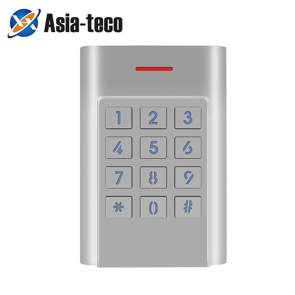 IP68 Waterproof Standalone Access Control Keypad Metal Case Security Entry Door Reader Access Control System 1000 User