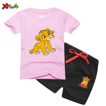 цена на Baby Clothing Set for Boys girls 2 piece clothing set Cute Casual Clothes Set Blue Shorts Suits Kids summer Clothes 234567 Years