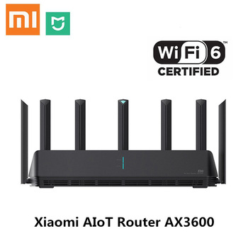 Xiaomi AIoT Router AX3600 Gigabit Wifi 6 5G Wifi6 600Mb Dual-Band 2976Mbs Gigabit Rate AIoT Antennas Wider Coverage Easy setup