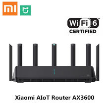 Xiaomi – Routeur AX3600 Wifi 6 5G, dispositif pour internet des objets, Wifi6 600 Mo, double bande 2976 Mbps, débit Gigabit, avec des antennes pour une couverture plus large, configuration facile