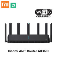 Xiaomi AIoT Router AX3600 Gigabit Wifi 6 5G Wifi6 600Mb Dual Band 2976Mbs Gigabit Rate AIoT Antennas Wider Coverage Easy setup