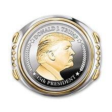 Dropshipping trump anel mais recente jóias presidente americano masculino legal biker anel 2021