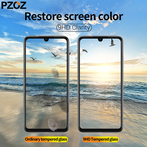 Image 4 - PZOZ for Redmi note 7 glass Fully covered tempered protective film for xiaomi mi 9 A2 lite glass Redmi 4X 5 plus K20 note 8 pro