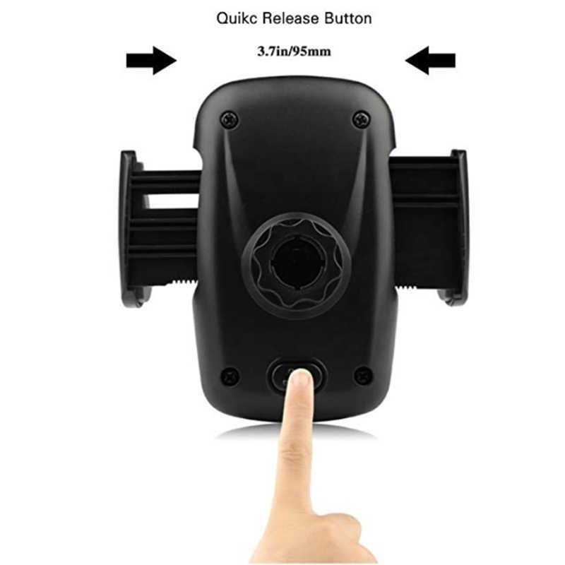 クイックリリースボタン自動車電話ホルダーベントはマウント携帯サポート携帯電話スマートフォンユニバーサル車の中で