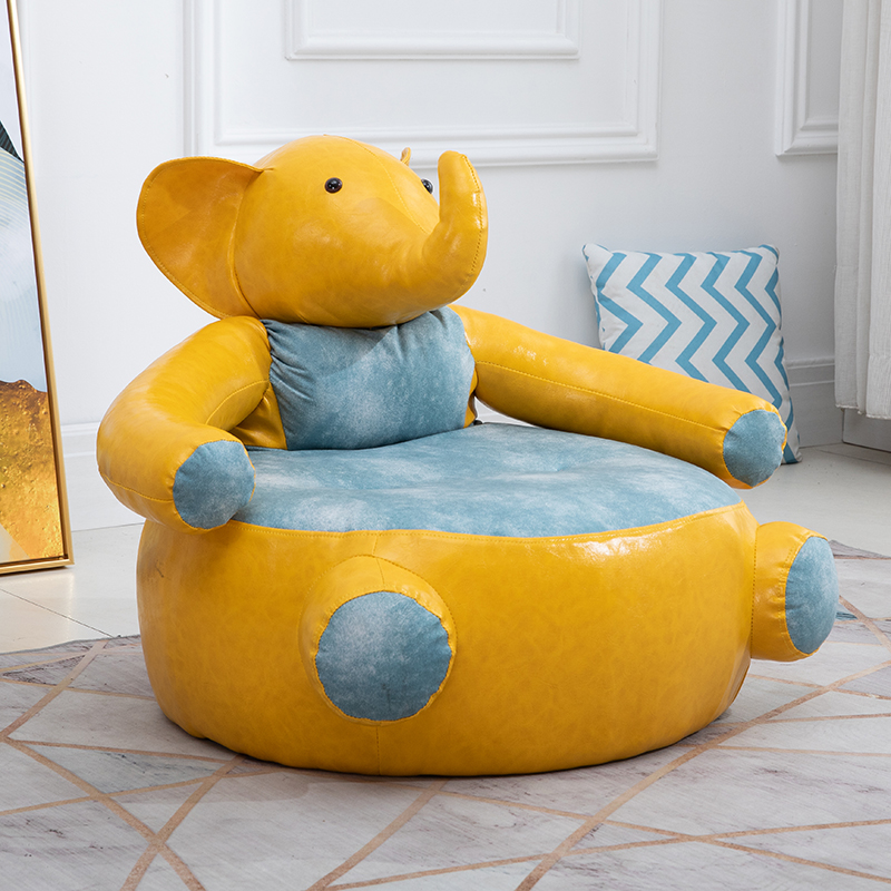 Cute Children's Sofa Cartoon Boys And Girls Couch Chair Can Be Removed And Washed Nordic Child Bed Pink