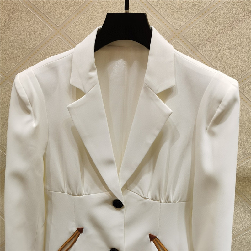 Autumn Blazer Suit 2020 New Women Fashion Blazer Jacket + Straight Pant Trousers Two-piece Suit Set