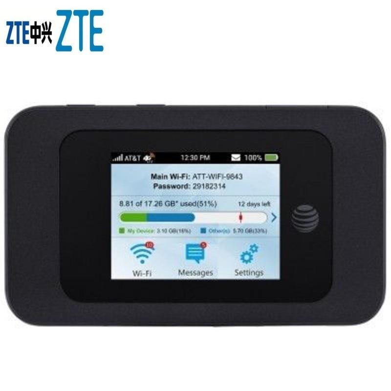 ZTE MF985 Australian Version 4G LTE Mobile Wifi Hotspot GSM Unlocked FDD 700/900/1800/2100/2600 PK Ac810s