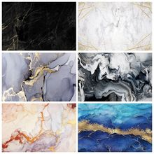 Photography Backdrop Laeacco Photo-Studio Texture Marble-Pattern Baby Gradient for Black