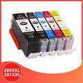 Совместимый PGI 280 280XXL 281XXL для Canon PGI-280 CLI-281 PGI280 CLI281 чернильный картридж PIXMA TR7520 TR8520 TS6120 TS8120 TS9120
