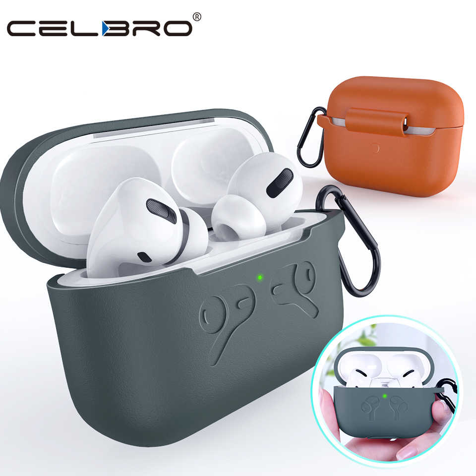 Silicone Case For Airpods Pro Case Wireless Bluetooth For Apple Air Pods Pro Case Cover Earphone Case For AirPod Pro Protection