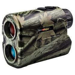 BIJIA Laser rangefinder Hunting 600m Telescope Distance Meter Golf Digital Monocular Golf Range Finder Angle measuring tool