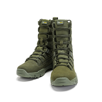 Cool Men Army Boots Hiking Sport Shoes Ankle Men Sneakers Outdoor Boots Men's Military Desert Waterproof Work Safety Shoes 1