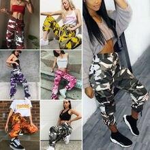 Женские военные армейские боевые камуфляжные джинсы, камуфляжные брюки-карго, повседневные спортивные штаны для бега, скейтборда