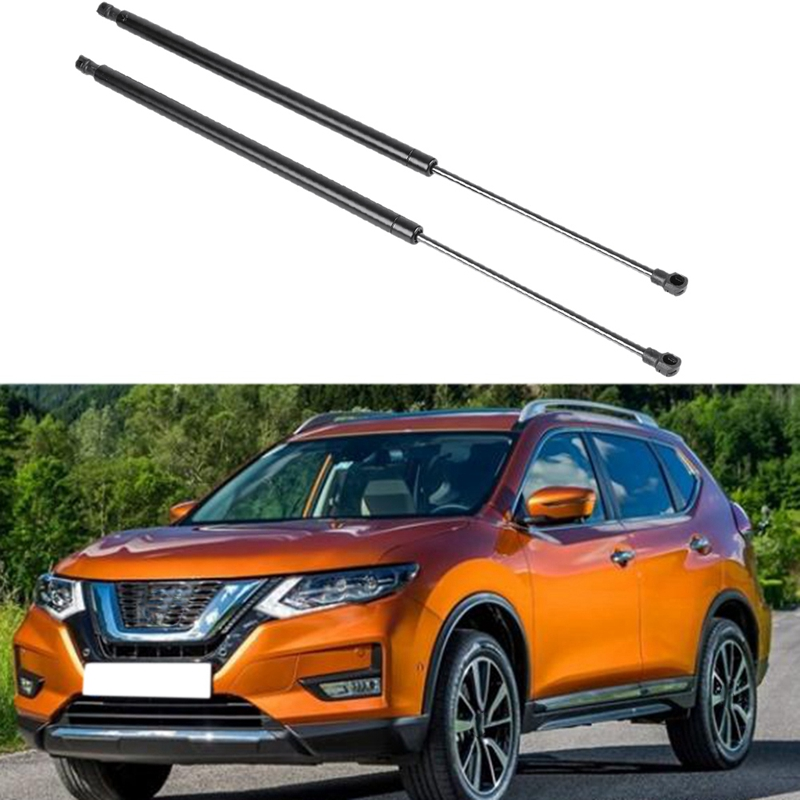 2X Car Rear Trunk Tailgate Boot Gas Spring Shock Lift Struts Support Rod Arm Bar For Nissan X-Trail T31 2007 2008 2009 2010-2013