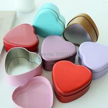 200 шт в форме сердца металлическая Оловянная Конфетница в форме сердца подарок на свадьбу любимая Свадебная вечеринка