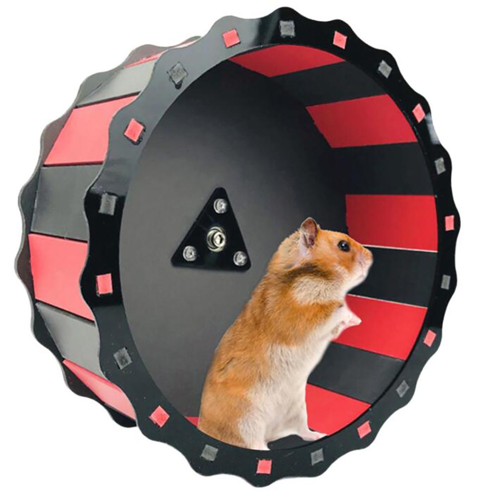 TWISTER.CK 19CM Small Pets Hamster Wheel Silent Roller Running Sports Round Wheel Pet Supplies Exercise Wheel For Pet Toy