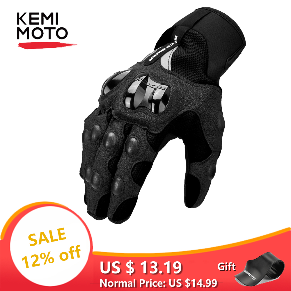 Motorcycle-Gloves Protective Summer Guantes Touch-Screen Women Man Invierno Breathable