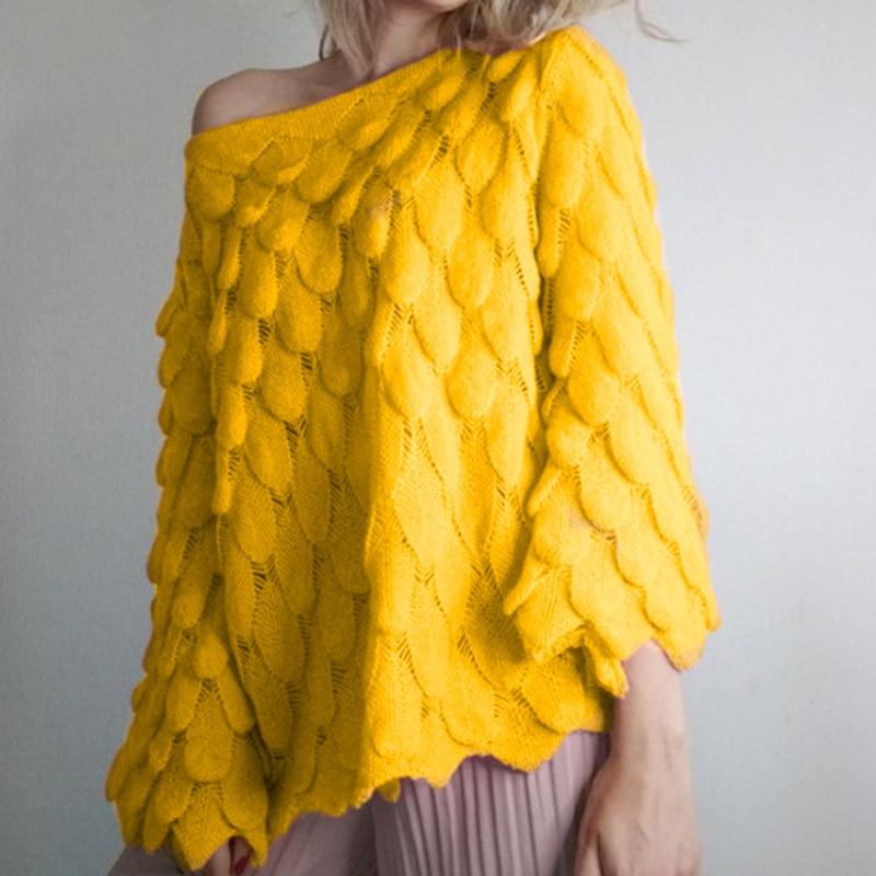 Misswim off shoulder sweater