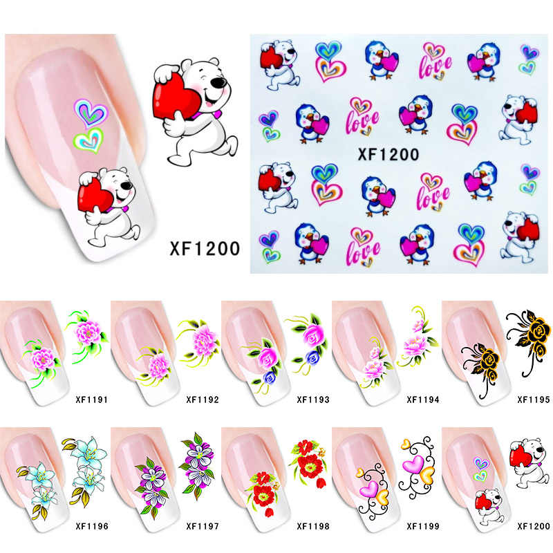18/12 / 6pc Hollow Nail Sticker French Nail Manicure Decal Decoration Adhesive Nail Art DIY Tips Nail Print Template Accessories