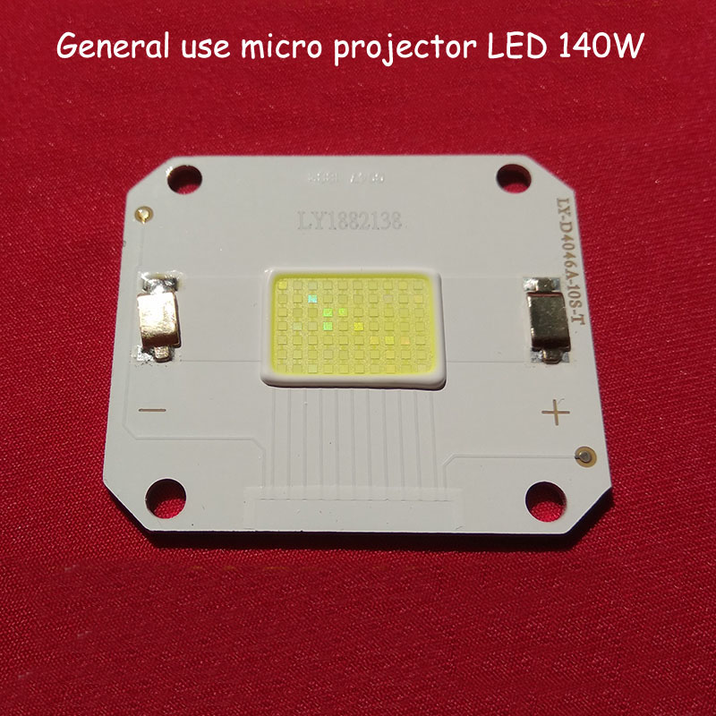1pcs Bridgelux Projector Lamp 4046 140W 45MIL For Micro Led Projector Unic Rigal Replacement Repair Update For Rd-806 808 818
