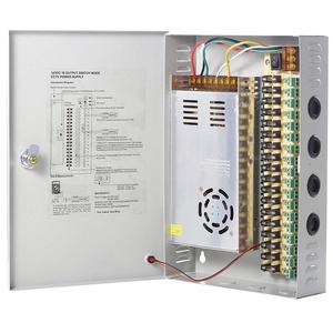 Image 4 - 18 ערוץ יציאת מופץ אספקת חשמל Swithing אספקת חשמל פלט 12V 10A 15A 20A 30A עבור אבטחת CCTV מערכת ומצלמות