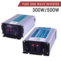 Nuevo https://ae01.alicdn.com/kf/H518c479d56a54ea8a470b7160f061ff3C/Equipo eléctrico USB 300 500W inversor de energía de onda sinusoidal pura DC12V 24 V AC110V.jpg