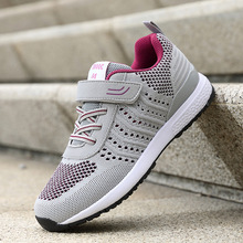 Women sneakers soft bottom Light Weight Running Shoes For Women Breathable Wear-resistant Walking shoes li ning 2018 women shoes ace run running shoes light weight wearable li ning sports shoes fitness breathable sneakers arbn006