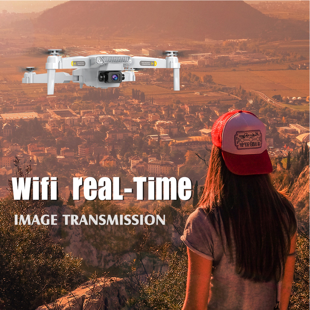 cheapest LSRC 2020 New Mini Drone 4K HD Camera WiFi Fpv Air Pressure Altitude Hold Black And Gray Foldable Quadcopter RC Dron Toy
