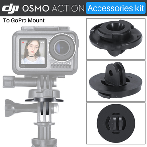 Image 2 - ULANZI Quick Release Base Mount W 3M Adhesive Tape Sticker Adapter For Gopro Hero 7/6/5 DJI Osmo Action Camera Accessories Kit