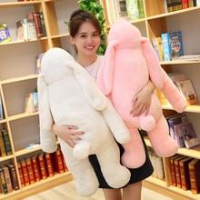 лучшая цена Long Ears Cute Rabbit Doll Baby Soft Plush Toys for Children Rabbit Sleeping Stuffed Plush Animal Baby Toys for Infant Plush Toy