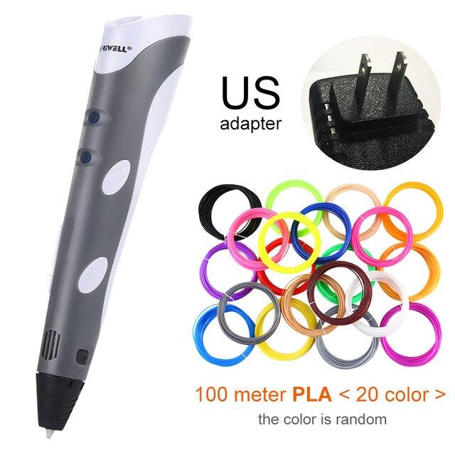 Grey US-100m PLA