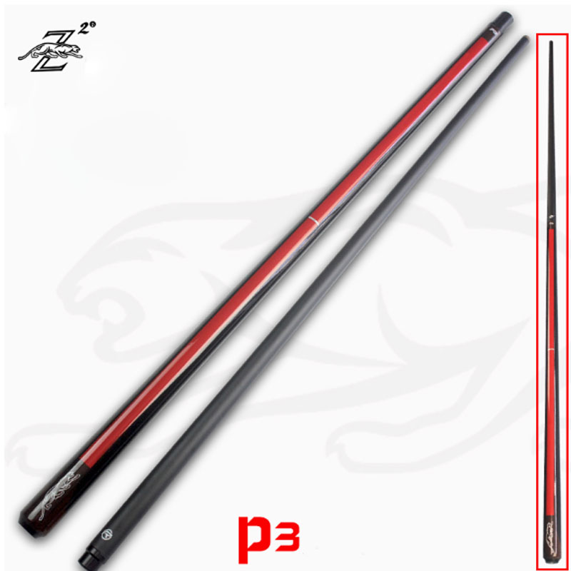 2020 NEW P3 Model Pool Cue Stick Maple Billiard Pool Black Shaft Two Options 13mm 11.5mm Tip Size