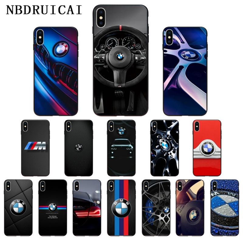 NBDRUICAI Sports Car Design BMW High Quality Silicone Phone Case For IPhone 11 Pro XS MAX 8 7 6 6S Plus X 5 5S SE XR Case
