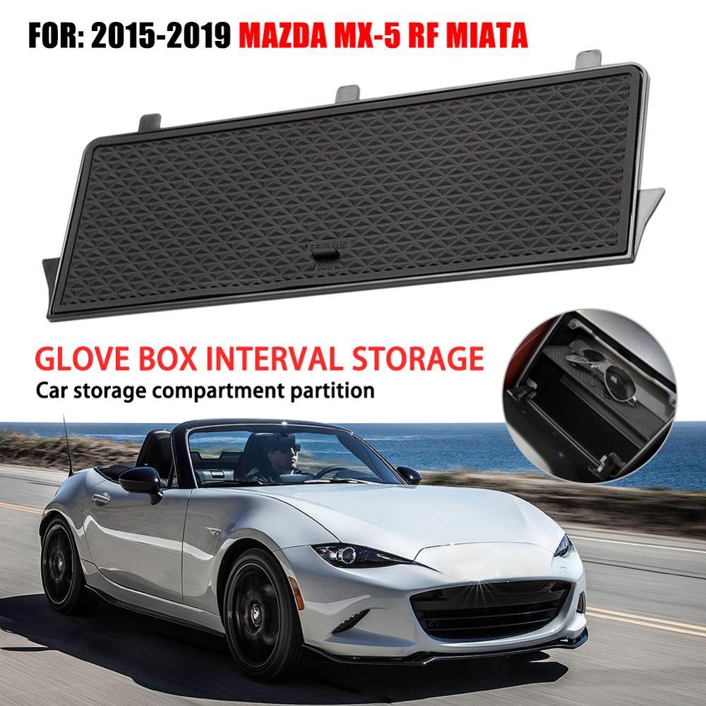 Organisateurs de boîte à gants ABS | Boîte à gants, intervalles de stockage Auto pour Mazda 2019 RF MIATA Console du Center de la voiture, organisateurs de boîte à gants ABS accessoires de voiture