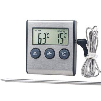 Tp700 cyfrowy zdalne sterowanie bezprzewodowe żywności piekarnik kuchenny sonda termometru dla Grill piekarnika mięso temperatura ręcznie zestaw tanie i dobre opinie CN (pochodzenie) Termometry kuchenne Gospodarstw domowych termometry Metal