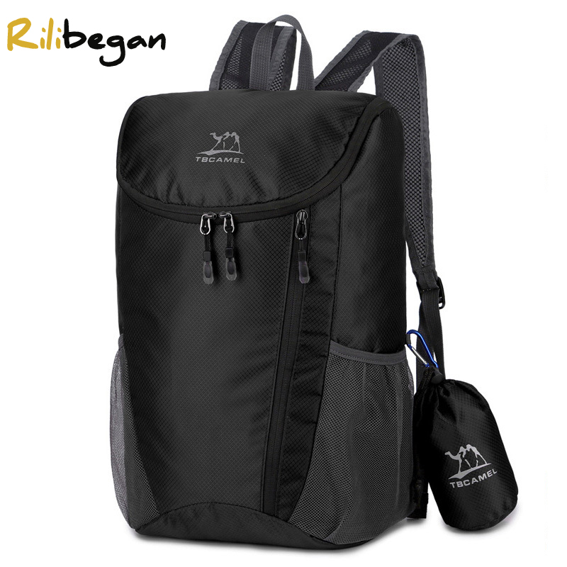 Ultralight Portable Folded Backpack for Men 43*17*28 cm Outdoor Hiking Travel Backpacks Waterproof Camping Women Shopping Bags