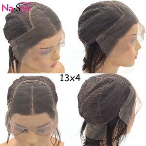 Image 5 - Perruque de cheveux humains bouclés 26 pouces 13x4 sans colle Lace Front perruques de cheveux humains pré plumés noeuds blanchis 150 250 perruque brésilienne Remy cheveux