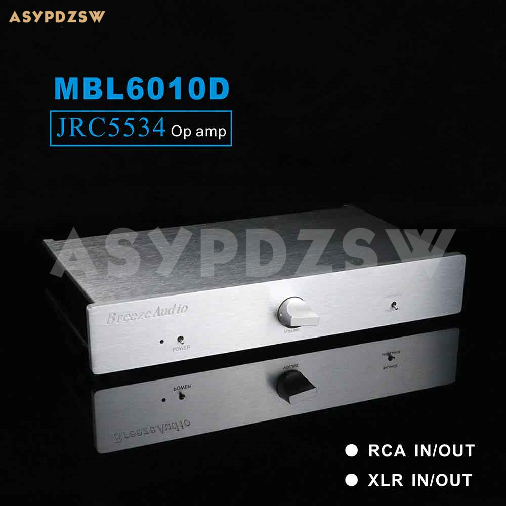 Fully Balanced JRC5534 Preamplifier Base On MBL6010D Circuit RCA/XLR IN And OUT