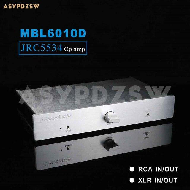 באופן מלא מאוזן JRC5534 מגביר בסיס על MBL6010D מעגל RCA/XLR ולצאת