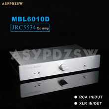 Tam dengeli JRC5534 preamplifikatör tabanı MBL6010D devre RCA/XLR giriş ve çıkış