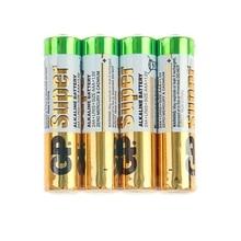 Батарейка алкалиновая GP Super, AAA, LR03-4S, 1.5В, спайка, 4 шт. 470420