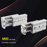 MXS20 MXS20L MXQ20 MXQ20L MXS25 MXS25L MXQ25 MXQ25L SMC Type dual rod Rail air pneumatic slide cylinder
