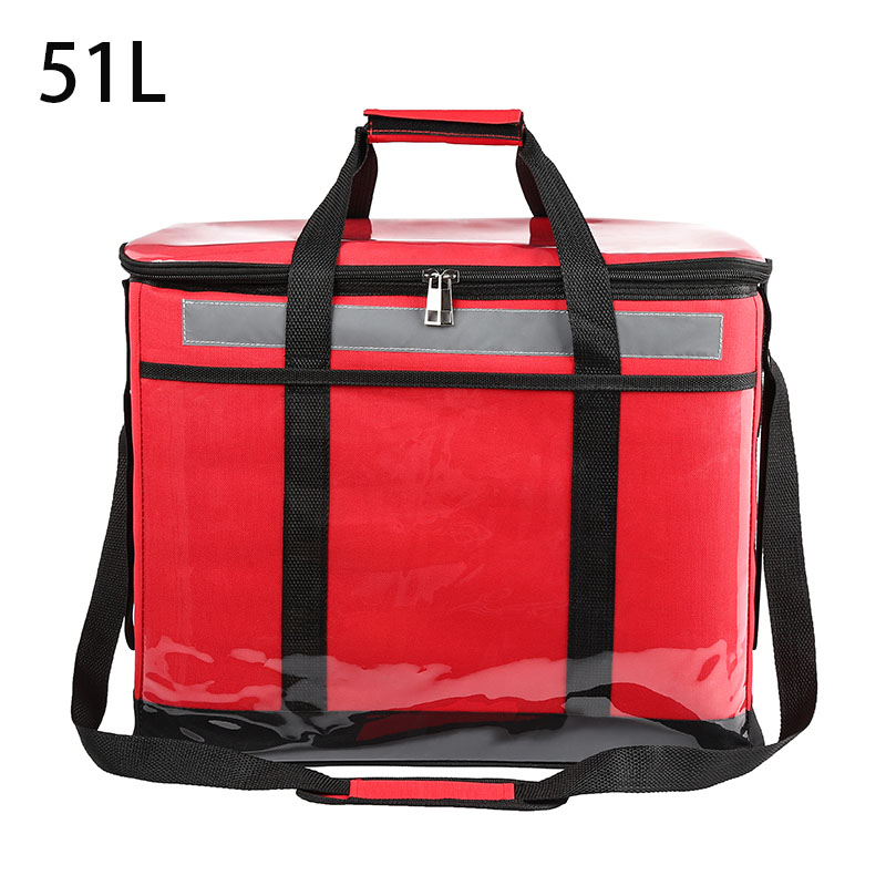 51L Take-out Incubator Container Food Portable Refrigerated Box Car Commercial Stall Cold Storage Small Refriger
