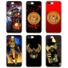 Soft Cover Bag For Samsung Galaxy Note 2 3 4 5 8 9 S2 S3 S4 S5 Mini S6 S7 Edge S8 S9 Plus Egyptian Falcon Horus Logo gods Egypt(China)