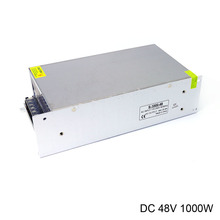 alimentation reglable power supply AC 220V to DC 48V 20.8A 1000W high power for industrial equipment power supply for dps 1000gb a 41a9710 41a9709 1000w working well