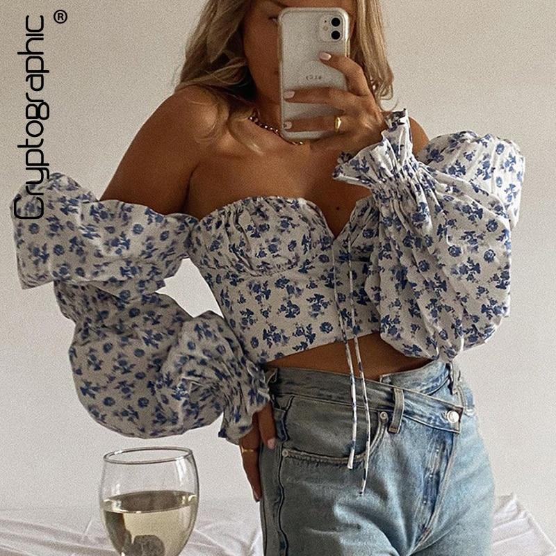 Elegant Vintage Sexy Shirt Tops Chic 1