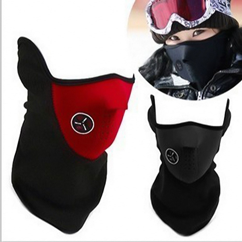 Bike Ride Snowboard Sport Face Mask Windproof Winter Warm Cover Neck Scarf Guard Outdoor Full Face Mask Cycling Bicycle Ski