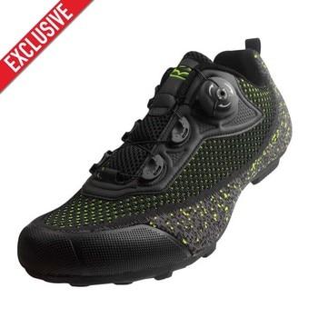 Exclusivo! Tiebao homens malha superior respirável sapatos de bicicleta de estrada não-bloqueio de borracha solas triathlon mtb sapatos de ciclismo unisex 1